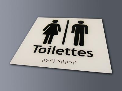 Plaque-toilettes