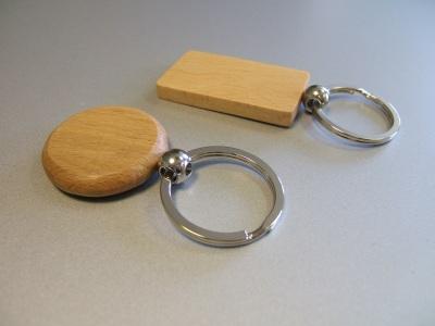 Porte-clefs-bois