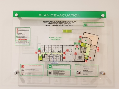 Plan-devacuation-Novotel-Orly